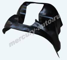 """Подкрылки передние FIAT Ducato (Елабуга) """"Пластик"""" 2007-"""