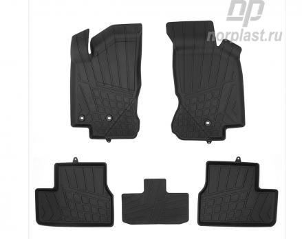 Коврики в салон литьевые для Datsun On-Do 2014- NP11-LdC-16-400