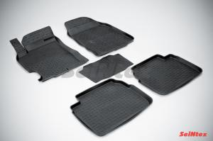 Коврики в салон резиновые для Mazda 6 2008-2012